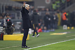Gian Piero Gasperini Head coach of Atalanta reacts during the Serie A match at Giuseppe Meazza, Milan. Picture date: 11th January 2020. Picture credit should read: Jonathan Moscrop/Sportimage