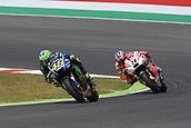 June 4th 2017, Mugello Circuit, Tuscany, Italy; MotoGP Grand Prix of Italy, Race day; Valentino Rossi (Movistar Yamaha) during the race
