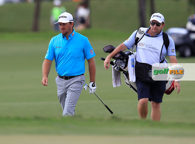 Graeme McDowell (NIR) during the 3rd round at the WGC Cadillac Championship, Blue Monster, Trump National Doral, Doral, Florida, USA<br /> Picture: Fran Caffrey / Golffile