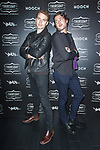 Co-founder of Thursday Boot Company Nolan Walsh (left) and guest attend the Thursday Boot Company Presentation at Vandal on September 13, 2017 in New York City.