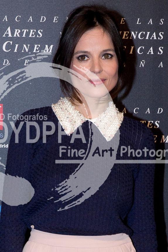 28/01/2012. Real Casa de Correos. Madrid. Spain. Goya Awards Nominated Gala 2012. Elena Anaya
