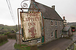 The Luppitt Inn Blackdown Hills. Devon.  Run by Mary Wright.
