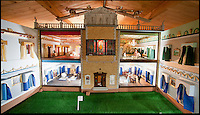 BNPS.co.uk (01202) 558833<br /> Picture: Peter Willows<br /> <br /> Georgian Manor complete with chandeliers...<br /> <br /> Every little girls Xmas wish...A meticulously crafted dolls house that has taken Len Martin from Dorset 26 years to complete in his garden shed.<br /> <br /> Len is now selling his masterpiece in time for Xmas..but any bidders for 'Langdon Hall' will need deep pockets to come up with the &pound;10,000 asking price.<br /> <br /> Leonard Martin, 68, was inspired to make the ornate house after he doodled a picture of his 'perfect home' on a scrap of paper while he was bored at work in 1987.<br /> <br /> He has worked on the miniature property up to five hours a day since then to build the extravagant home and make his dreams a reality.<br /> <br /> The 6ft 2ins long and 3ft 6ins tall building has two bedrooms, two bathrooms, a kitchen, sitting room, dining room, and hallway all filled with tiny furniture.<br /> <br /> Leonard has spared no expense on the detailed Georgian manor and has spent more than 6,000 pounds building and filling the rooms.<br /> <br /> He has splashed out on detailed finishes and period furnishings including a Swarvoski crystal chandelier, hand stitched carpets, and real marble flooring.<br /> <br /> There are miniature beds, settees, cupboards, baths, toilets, and even tiny oil paintings that look like their huge counterparts - including the Mona Lisa.<br /> <br /> After working on the incredibly intricate Langdon House for more than a third of his life, Leonard has now decided to sell it and hopes to fetch around 9,000 pounds.<br /> <br /> Leonard, who used to own a miliary memorabilia shop and lives in Charlton Marshall near Blandford,Dorset, said: &quot;It all began when I was in my shop one