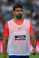 Diego Costa of Atletico Madrid during the match between Real Madrid v Atletico Madrid of LaLiga, date 7, 2018-2019 season. Santiago Bernabéu Stadium. Madrid, Spain - 29 SEP 2018.