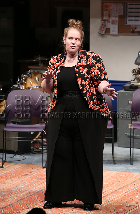 Morgan Gould during the 2018 Presentation of New Works by the DGF Fellows on October 15, 2018 at the Playwrights Horizons Theatre in New York City.