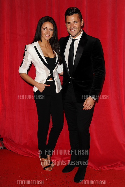 Michelle Keegan and Mark Wright arriving for the 2014 British Soap Awards, at the Hackney Empire, London. 24/05/2014 Picture by: Steve Vas / Featureflash