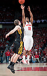 March 3, 2010: Wisconsin Badgers guard Jordan Taylor (11) shoots the ball during a Big Ten Conference NCAA basketball game against the Iowa Hawkeyes at the Kohl Center on March 3, 2010 in Madison, Wisconsin. The Badgers won 67-40. (Photo by David Stluka)