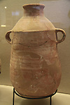 A storage jar from the First Temple period 7th-6th centuries BC, Jerusalem, on display at the Hecht Museum, the University of Haifa