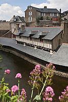 Europe/France/Bretagne/56/Morbihan/Vannes: Les Vieux Lavoirs sur les bords de la Marle XV et XVII siècles