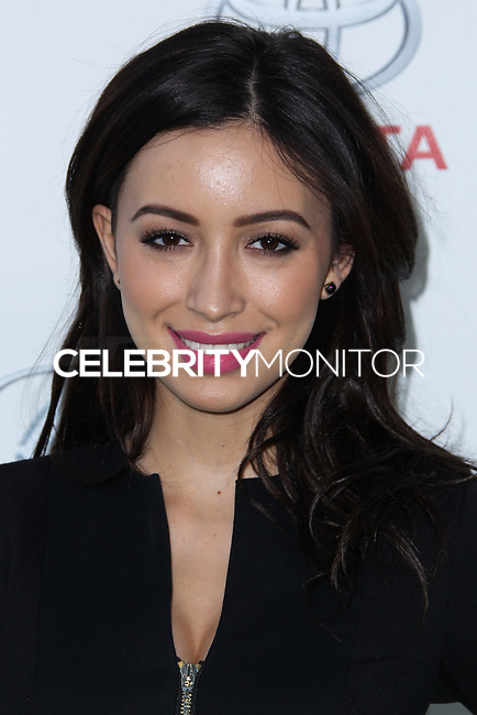 BURBANK, CA - OCTOBER 19: Christian Serratos at the 23rd Annual Environmental Media Awards held at Warner Bros. Studios on October 19, 2013 in Burbank, California. (Photo by Xavier Collin/Celebrity Monitor)
