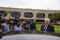 BRASILIA, DF, 20.11.2018 - BOLSONARO-CCBB-   Roberto Castelo Branco, provável futuro presidente da Petrobrás, deixa o CCBB, onde ocorre a transição do Governo, nesta terça, 20.(Foto:Ed Ferreira / Brazil Photo Press)
