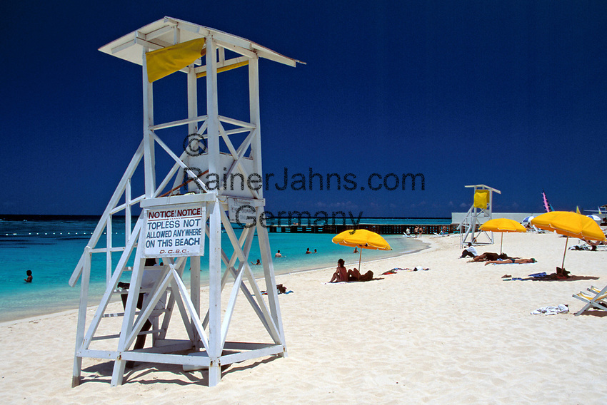Jamaica, St. James, Montego Bay, Doctor's Cave Beach | Jamaica, St. James, Montego Bay, Doctor's Cave Beach