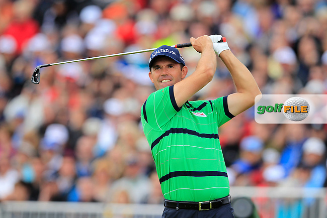Padraig Harrington (IRL) tees off the 5th tee during Friday's Round 2 of the 141st Open Championship at Royal Lytham & St.Annes, England 20th July 2012 (Photo Eoin Clarke/www.golffile.ie)