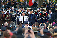 May 15, 2013  (Washington, DC)  President Barack Obama prepares to address attendees of the 32nd Annual Peace Officers memorial Service on the west lawn of the U.S. Capitol.  (Photo by Don Baxter/Media Images International)