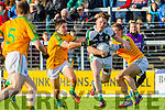 Paul O'Sullivan and Brian Sugrue South Kerry in Action against Conor Keane Legion in the Kerry County Senior Football Final at Fitzgerald Stadium on Sunday.