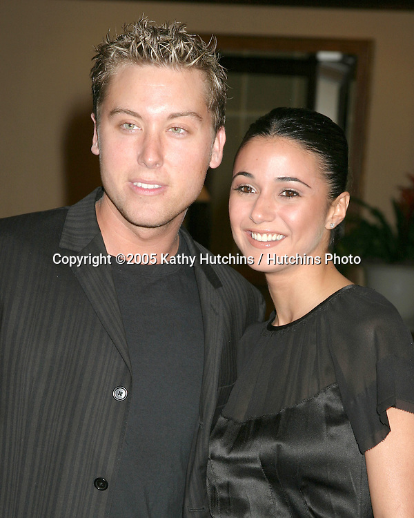 Lance Bass.Emmanuelle Chriqui.12th Annual Race to Erase MS.Beverly Hills, CA.April 22, 2005.©2005 Kathy Hutchins / Hutchins Photo.