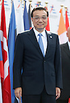 China's Premier Keqiang Li arrives to attend the 10th Asia-Europe Meeting (ASEM) on October 16, 2014 in Milan. The Asia-Europe Meeting (ASEM) was created in 1996 as a forum for dialogue and cooperation between Europe and Asia. It's held every two years alternatively in Asia and Europe.