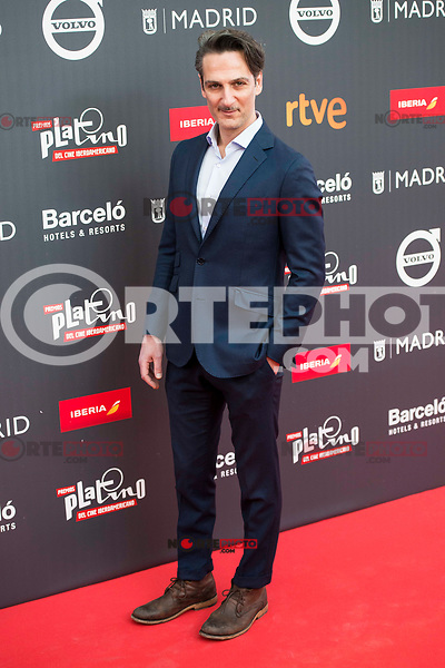 "Ernesto Alter attends to the presentation of the ""Premios Platino"" at Palacio de Cristal in Madrid. April 07, 2017. (ALTERPHOTOS/Borja B.Hojas) (NortePhoto.com)"
