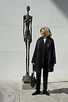 Sculpture garden at MOMA in New York City