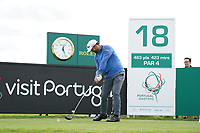 Lee Slattery (ENG) during Wednesday Pro-Am of the Portugal Masters, Dom Pedro Victoria Golf Course, Vilamoura, Vilamoura, Portugal. 23/10/2019<br /> Picture Andy Crook / Golffile.ie<br /> <br /> All photo usage must carry mandatory copyright credit (© Golffile | Andy Crook)