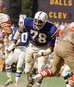 Baltimore Colts Bubba Smith (78) during a game  from his career with the Baltimore Colts.  Bubba Smith played 9 years, with 3 different team and was a 2-time Pro Bowler.(SportPics)