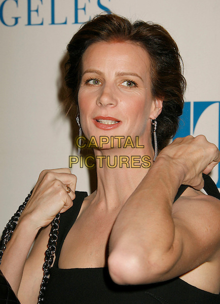 "RACHEL GRIFFITHS.The Museum Of Television and Radio presents The Twenty-Fourth Annual William S. Paley Television Festival, ""Brothers and Sisters"" held at the Directors Guild Of America, West Hollywood, California, USA..March 5th, 2007.headshot portrait dangling earrings .CAP/ADM/RE.©Russ Elliot/AdMedia/Capital Pictures"