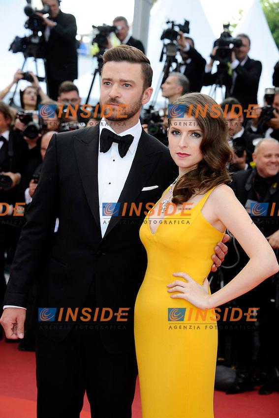 Justin Timberlake, Anna Hendrick<br /> Festival di Cannes 2016 <br /> Foto Panoramic / Insidefoto