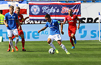 Marvin Mehlem (SV Darmstadt 98) - 04.08.2019: SV Darmstadt 98 vs. Holstein Kiel, Stadion am Boellenfalltor, 2. Spieltag 2. Bundesliga<br /> DISCLAIMER: <br /> DFL regulations prohibit any use of photographs as image sequences and/or quasi-video.