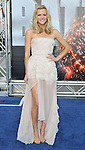 Brooklyn Decker at the American Premiere of Battleship, held at Nokia Theatre L.A. LIVE Los Angeles, CA. May 10,  2012