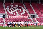 Trikot Mainzer wltklasse nach dem Spiel Jubel<br /> <br /> <br /> Sport: nphgm001: Fussball: 1. Bundesliga: Saison 19/20: 33. Spieltag: 1. FSV Mainz 05 vs SV Werder Bremen 20.06.2020<br /> <br /> Foto: gumzmedia/nordphoto/POOL <br /> <br /> DFL regulations prohibit any use of photographs as image sequences and/or quasi-video.<br /> EDITORIAL USE ONLY<br /> National and international News-Agencies OUT.