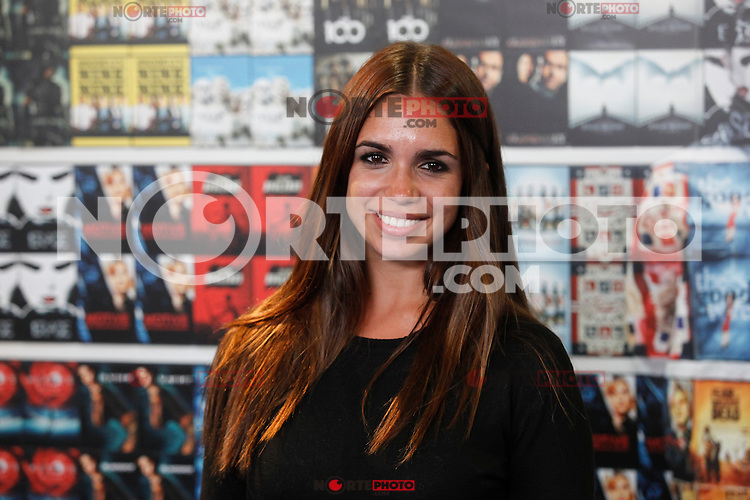 Spanish actress Elena Furiase poses during the presentation of the `¿Que fue de Jorge Sanz?´ TV show in Madrid, Spain. November 13, 2015. (ALTERPHOTOS/Victor Blanco)