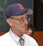 Mike Dorman at the Retirement Celebration for Tony Marro held at Melville Office of Newsday on Tuesday, August 12, 2003. (Photo / Jim Peppler).