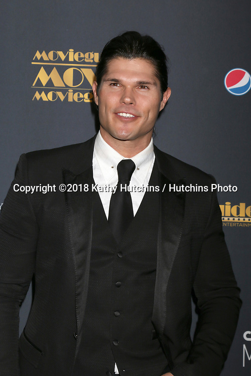 LOS ANGELES - FEB 2:  Taylor James at the 26th MovieGuide Awards at the Universal Hilton Hotel on February 2, 2018 in Universal City, CA