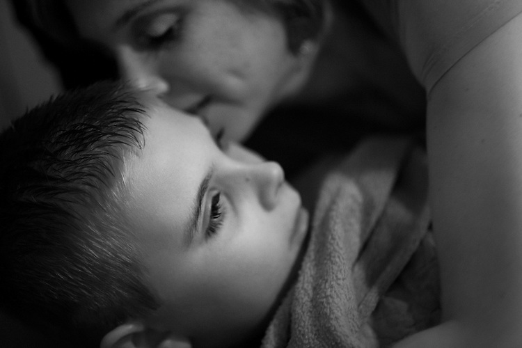 """""""At the end of the day, children with autism are not given to strong special people.  We are made strong, and we are made special, by having to raise that child with special needs and, yes, we are very often given more than we can handle,? Erin said...Erin has never had a conversation with her son, so their relationship often seems like a one-way street.  Despite his very rare emotional reciprocation, she always surrounds him with love and support.  ."""
