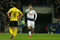 Fernando Llorente of Tottenham Hotspur celebrates scoring the third goal during Tottenham Hotspur vs Borussia Dortmund, UEFA Champions League Football at Wembley Stadium on 13th February 2019