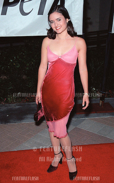 18SEP99: Actress DANICA McKELLAR at PETA's Party of the Century, in Los Angeles.     .© Paul Smith / Featureflash