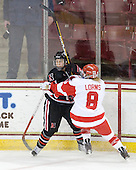 ?, Holly Lorms (BU - 8) - The Northeastern University Huskies tied Boston University Terriers 3-3 in the 2011 Beanpot consolation game on Tuesday, February 15, 2011, at Conte Forum in Chestnut Hill, Massachusetts.