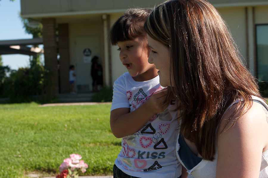Nicole De La Cruz joined the Mothers of an Angel Network after her two year old son was struck and killed by a train. Nicole returned to the Fresno area from San Jose to be near her family.