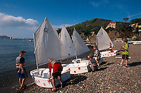 Kindersegelkurs in Bagnaia, Elba, Italien
