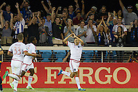San Jose, Ca. - Friday, August 28, 2015: The San Jose Earthquakes defeated the Los Angeles Galaxy 1-0 at Avaya Stadium.