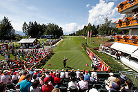 Darren Clarke (NIR) on the 1st day of the Omega European Masters, Crans-Sur-Sierre, Crans Montana, Switzerland..Picture: Golffile/Fran Caffrey..