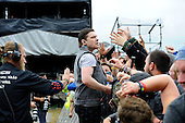 SHINEDOWN - vocalist Brent Smith - performing live on Day Three on the Lemmy Stage at Download Festival at Donington Park UK - 12 Jun 2016.  Photo credit: Zaine Lewis/IconicPix