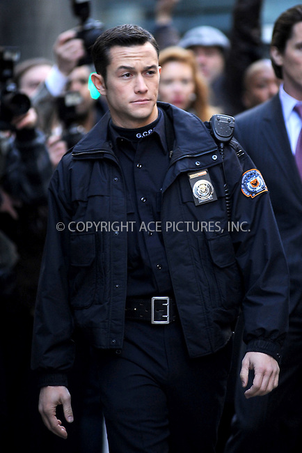 WWW.ACEPIXS.COM . . . . . .October 28, 2011...New York City...Joseph Gordon-Levitt films the The Dark Knight Rises in midtown on October 28, 2011 in New York City....Please byline: KRISTIN CALLAHAN - ACEPIXS.COM.. . . . . . ..Ace Pictures, Inc: ..tel: (212) 243 8787 or (646) 769 0430..e-mail: info@acepixs.com..web: http://www.acepixs.com .