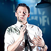 Ink <br /> by James Graham <br /> directed by Rupert Goold <br /> world premier <br /> at Almeida Theatre, London, Great Britain <br /> press photocall 26th June 2017 <br /> <br /> <br /> <br /> Richard Coyle as Larry Lamb <br /> <br /> <br /> <br /> <br /> Photograph by Elliott Franks <br /> Image licensed to Elliott Franks Photography Services