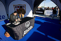 Allstate display, Tony Meola. The USMNT tied Argentina, 1-1, at the New Meadowlands Stadium in East Rutherford, NJ.