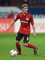 FUSSBALL   1. BUNDESLIGA  SAISON 2012/2013   5. Spieltag FC Augsburg - Bayer 04 Leverkusen           26.09.2012 Lars Bender (Bayer 04 Leverkusen)