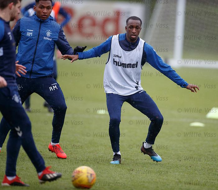 05.02.2019: Rangers training: Glen Kamara