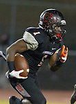 Lawndale, CA 11/11/16 - Jordan Wilmore (Lawndale #1) in action during the West Torrance - Lawndale CIF first round playoffs.  Lawndale defeated West Torrance 48-14.