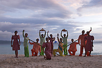 Philippine traditional dance performers,BORACAY ISLAND PHILIPPINES