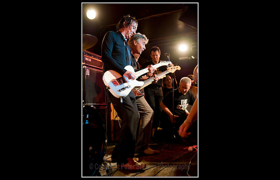 Steve Diggle & Glen Matlock - Making the Modern Scene 2 - Terry Rawlings Benefit - 100 Club - 27-07-2009
